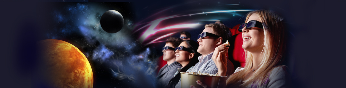 watching a movie on VR