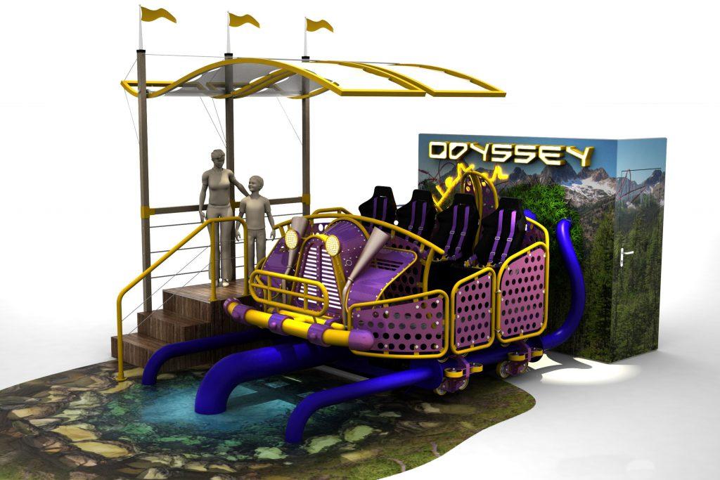 Vr Ride the odyssey