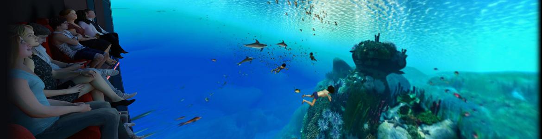 Skyride under the sea
